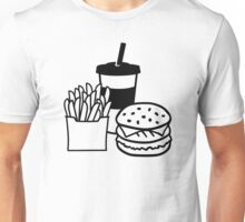 Burger french fries drink Unisex T-Shirt