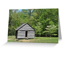 Alex Cole Cabin Greeting Card