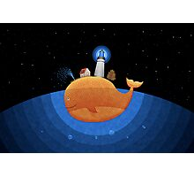 Whale (Night) Photographic Print