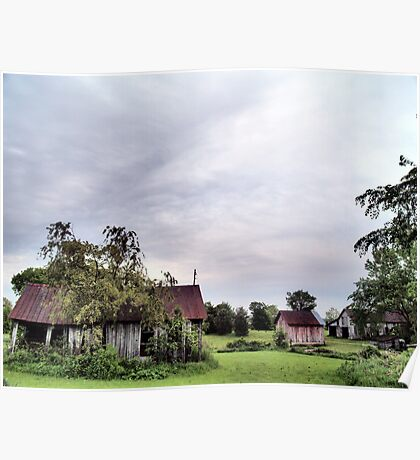 Old Barns Series #3 Poster