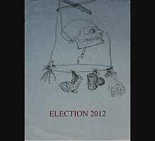 Election 2012 Womens Fitted T-Shirt