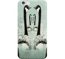 Synchronized Swimming Geese  iPhone Case/Skin