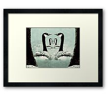 Synchronized Swimming Geese  Framed Print