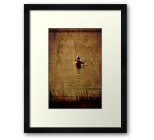 Wade Fishing Framed Print