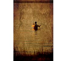 Wade Fishing Photographic Print