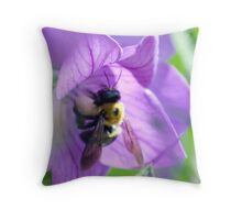 Bee Kiss Throw Pillow
