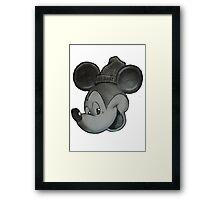 pencil mouse Framed Print