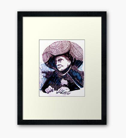 Carnak, Tribute to Johnny Carson Framed Print