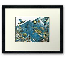 Sea Scape Framed Print