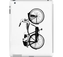 Badger On A Bicycle iPad Case/Skin