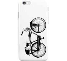 Badger On A Bicycle iPhone Case/Skin