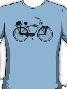 Badger On A Bicycle T-Shirt