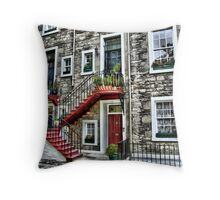 ramsay gardens Throw Pillow