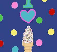 I LOVE ICE CREAM  by Coco  S