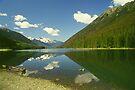 BC Mountain Lake by Allen Lucas
