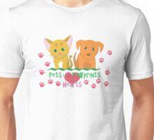 Pets Leave Pawprints Unisex T-Shirt