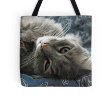 Jimmy lounging Tote Bag