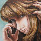 Selfportrait by Ine Spee