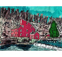 Red Mill Museum Photographic Print