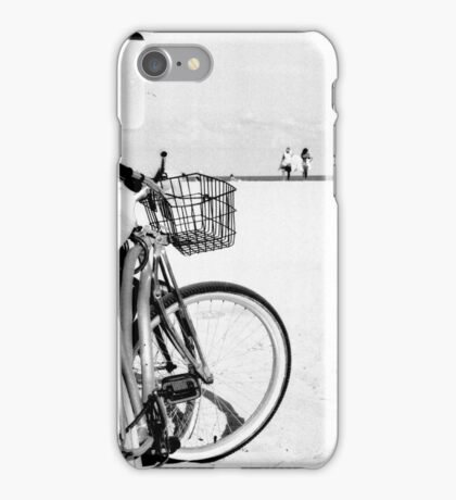 Bicycles at the Beach iPhone Case/Skin