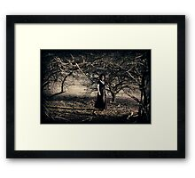 The Wooded Theatrette Framed Print