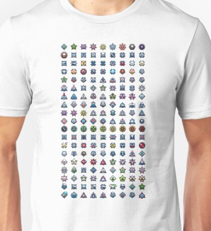 Halo Medal Collection Unisex T-Shirt