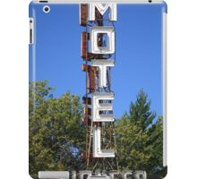 Route 66 - Pioneer Motel iPad Case/Skin