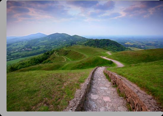 The Malvern Hills by Angie Latham