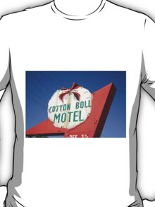 Route 66 - Cotton Boll Motel T-Shirt