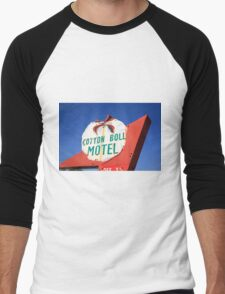 Route 66 - Cotton Boll Motel Men's Baseball ¾ T-Shirt