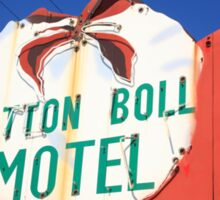 Route 66 - Cotton Boll Motel Sticker