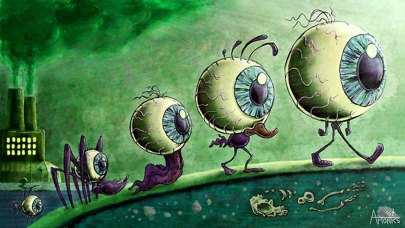 EyeVolution by trickmonkey