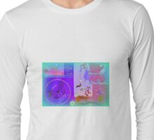 A Sweet Little Peaceful collage for Kids  Long Sleeve T-Shirt