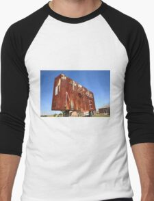 Route 66 - Western Motel Neon Men's Baseball ¾ T-Shirt