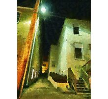 Night Alleyway Photographic Print