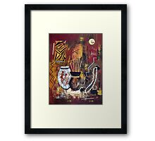 African Perspective Framed Print