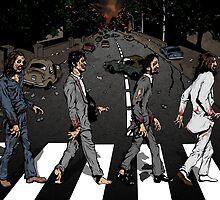 Zombie Abbey Road by SamuraiChatter