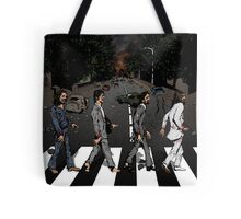 Zombie Abbey Road Tote Bag