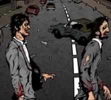 Zombie Abbey Road Sticker