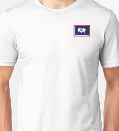 Wyoming State Flag Unisex T-Shirt