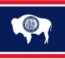 Wyoming State Flag Sticker