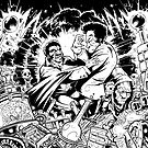 BLACULA VS BLACKENSTEIN by mrbones