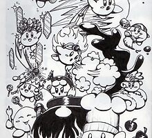 kirby chaos by angel7sin7