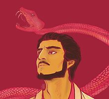 The Red Viper by lauraelyse