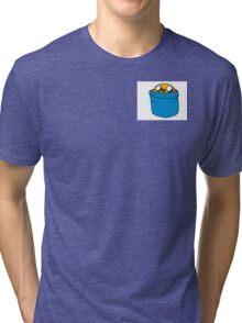 Jake in Finn's Pocket Tri-blend T-Shirt