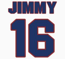 National baseball player Jimmy Bloodworth jersey 16 by imsport