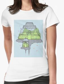 Botanical Gardens Womens Fitted T-Shirt