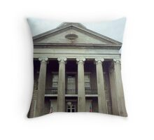 Vicksburg Courthouse Throw Pillow