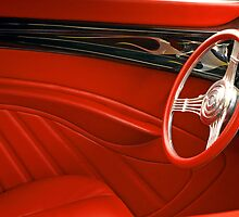 Retro Red. by Todd Rollins
