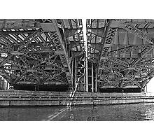 CHICAGO - UNDER THE BRIDGE Photographic Print
